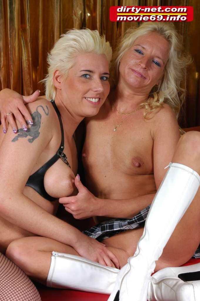 Nici und Mandy zwei lesbische Girls